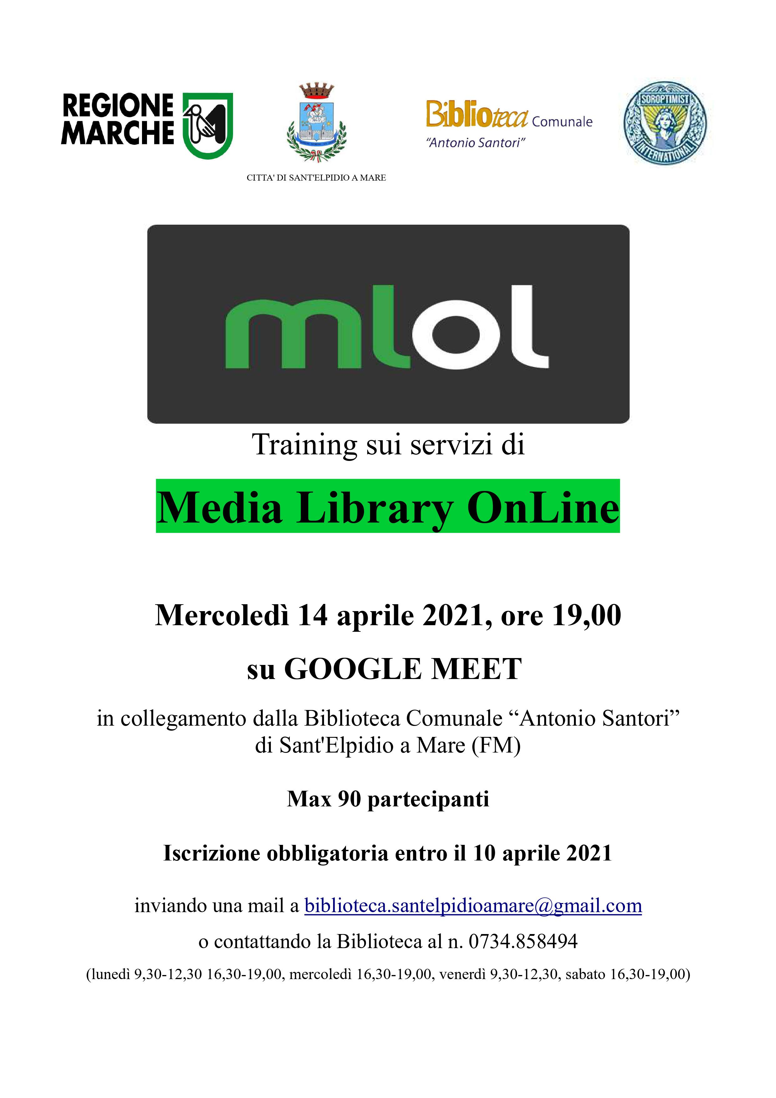 MLOL (Media Library OnLine): TRAINING SUI SERVIZI