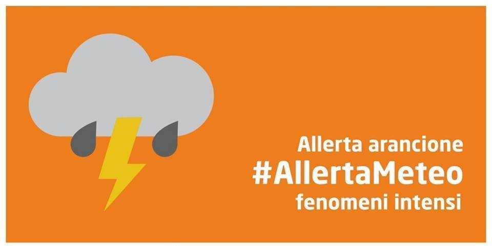ALLERTA METEO ARANCIONE 07 E 8 OTTOBRE 2021