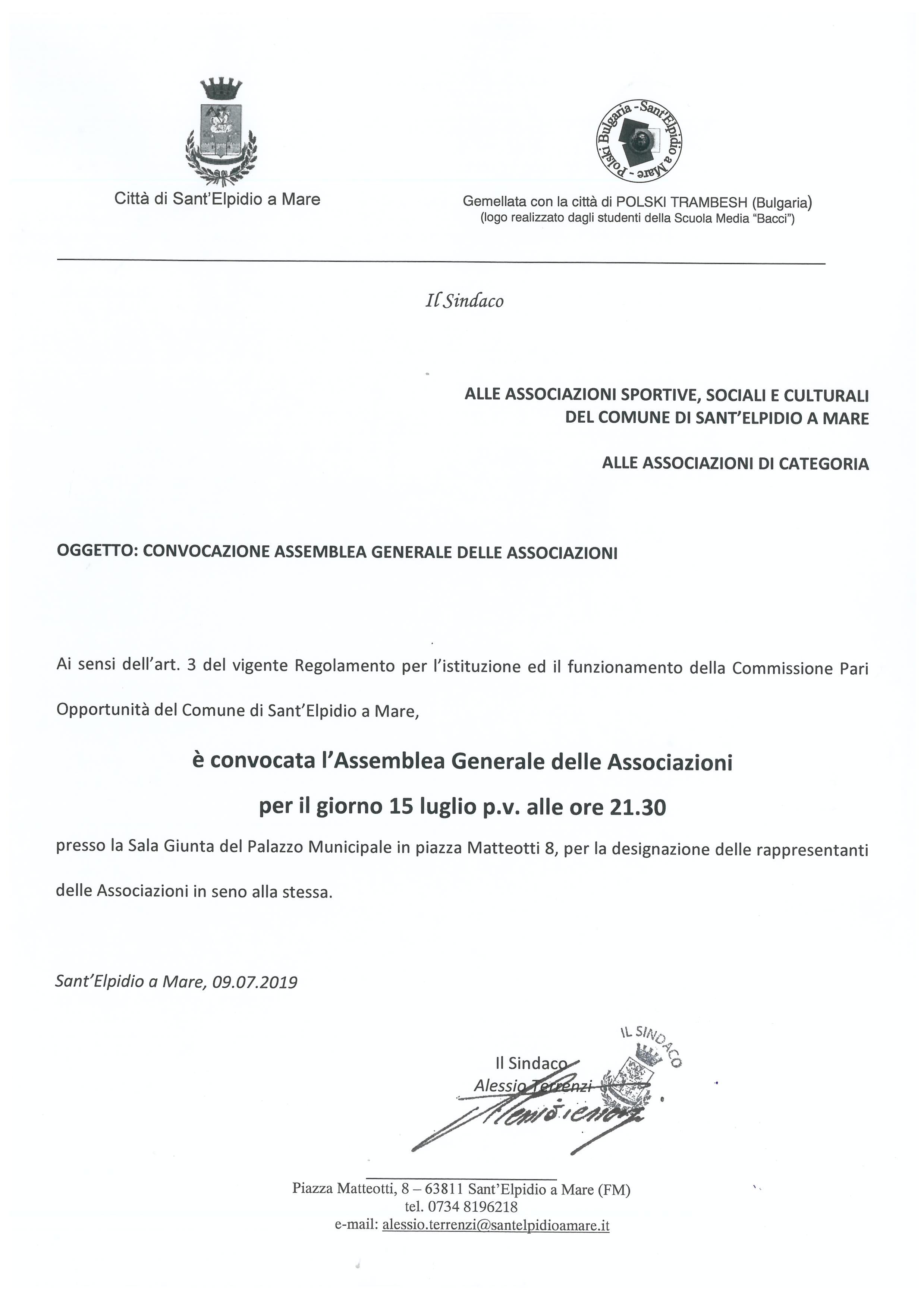 COMMISSIONE PARI OPPORTUNITA' - INCONTRO